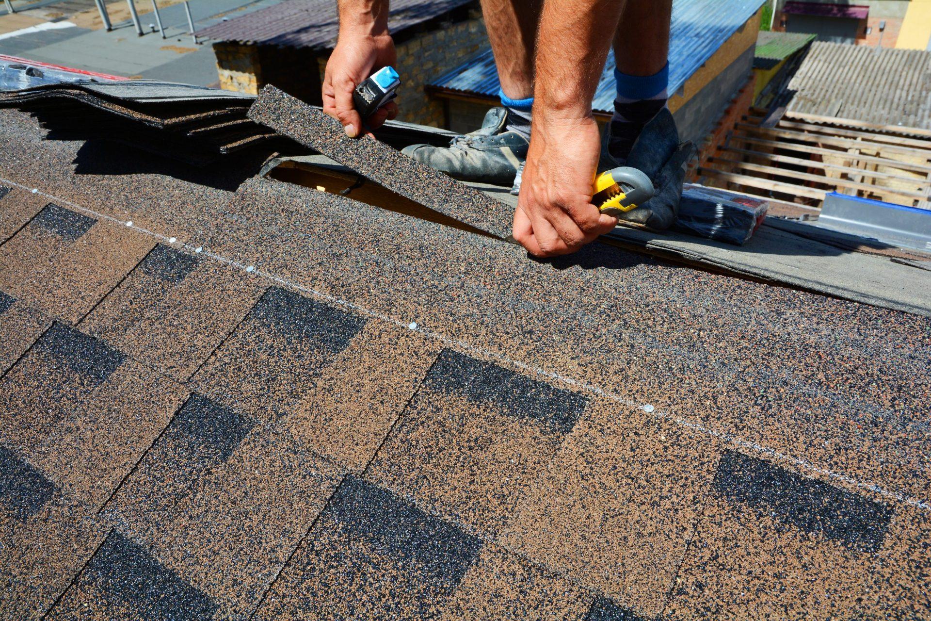 bedekken van dak Bitumen