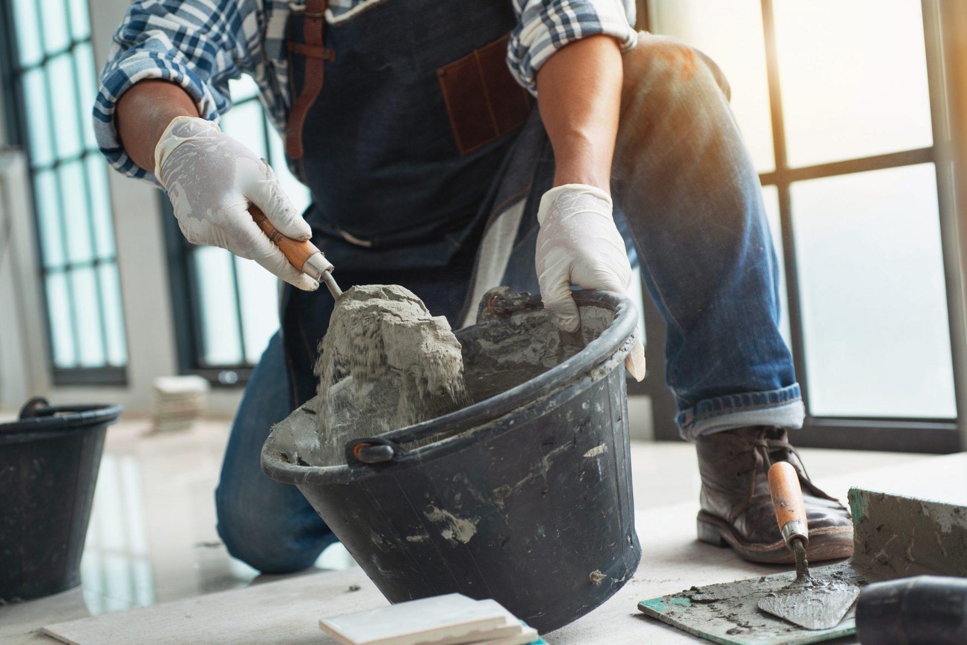 Cement voor verbouwing