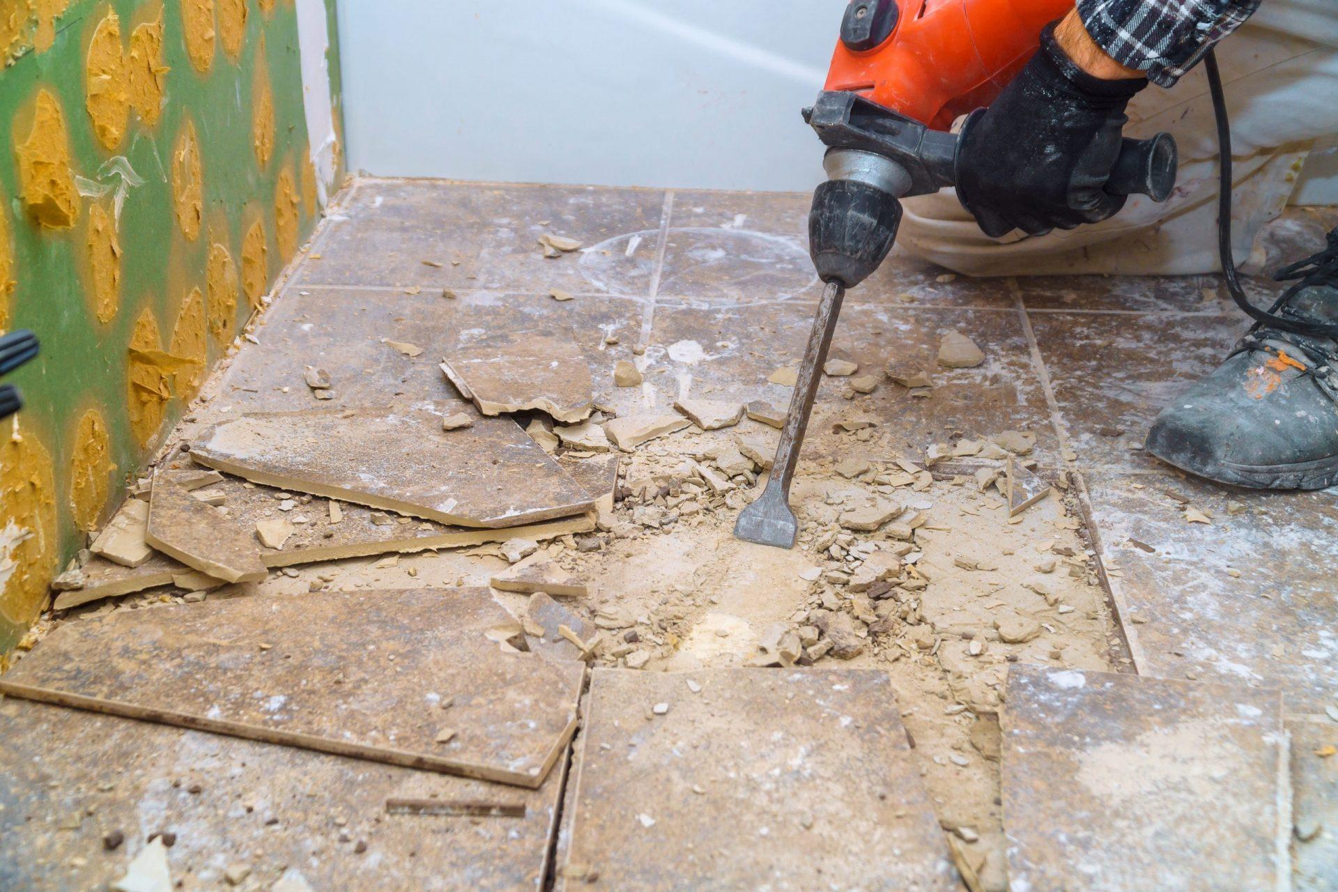 Vloer verwijderen