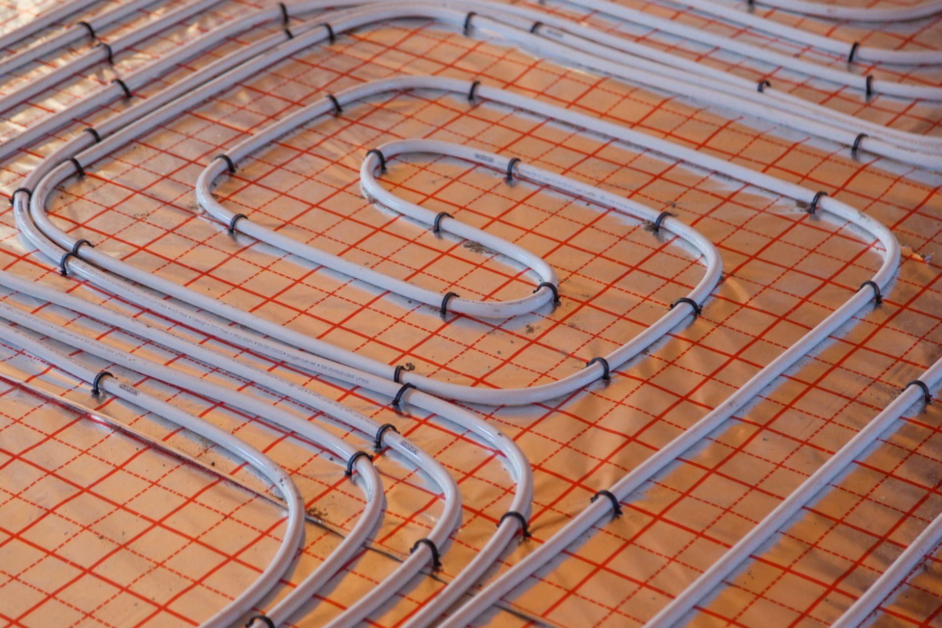 Vloerverwarming door Multi Concurrent