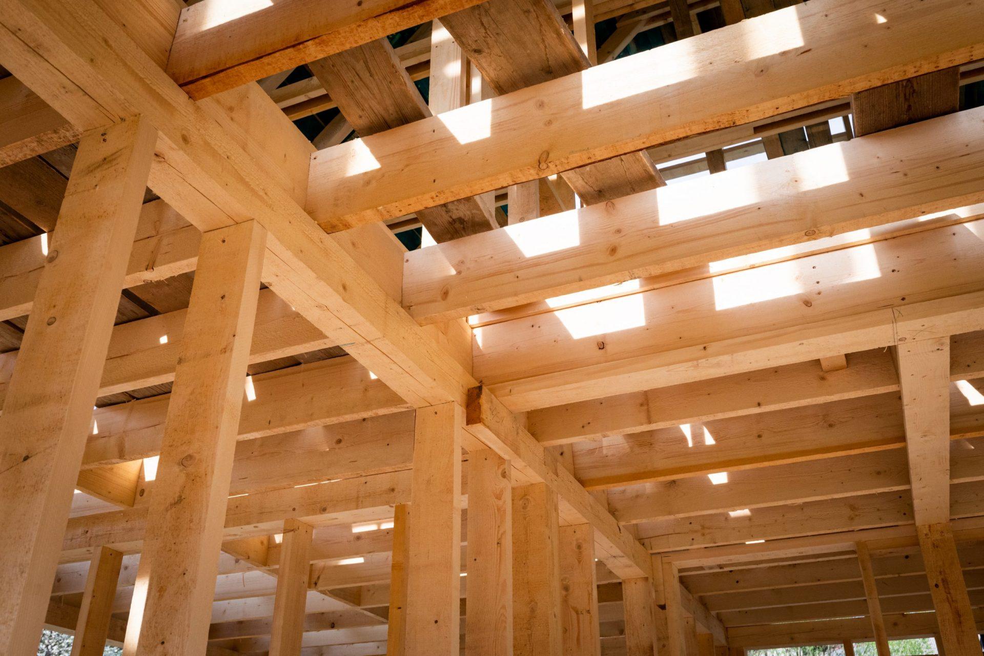 houten aanbouw